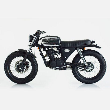 Deus Smokey Joe Custom - This makes me want to learn how to ride a motor bike.