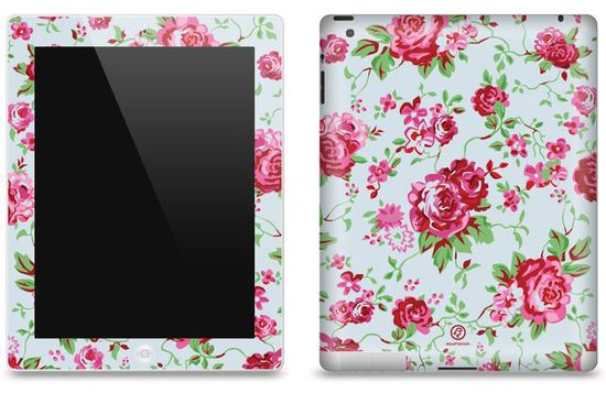 Floral iPad case:)