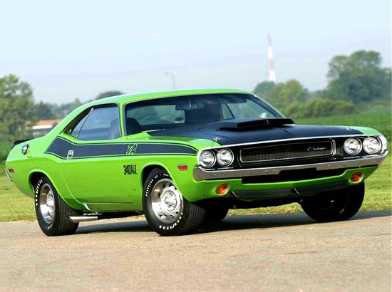 The Challenger in 1970 Love this color