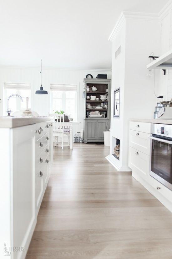Scandinavian flooring.