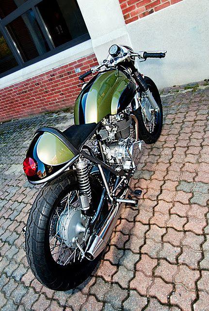 Honda CB450 Cafe Racer !