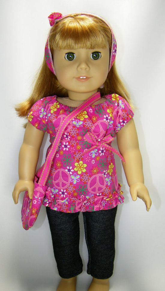 American girl doll outfit 4 pieces by CindyrellasCloset on Etsy,