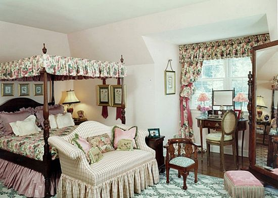 English Style Bedroom Decoration Ideas