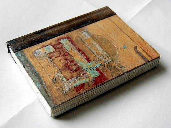 More mixed media handmade book covers.