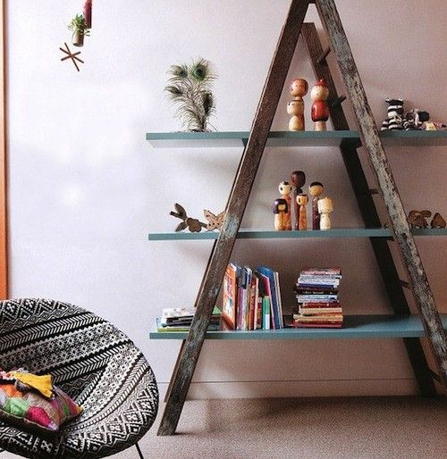 Unique DIY Decor Ideas to Repurpose that Old Ladder