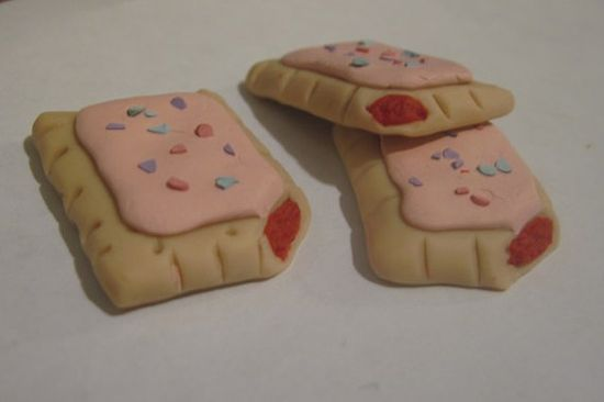 Toaster Pastry for American Girl  Doll Food by MiniatureFood4Dolls, $2.00