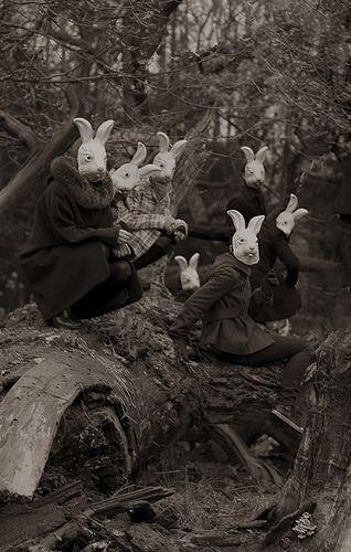 """""""Bunnyland"""" - Photography by Alena Beljakova, 2009. S)"""