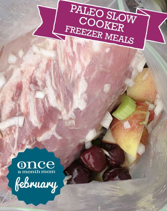 Paleo Slow Cooker Freezer Meals Mini