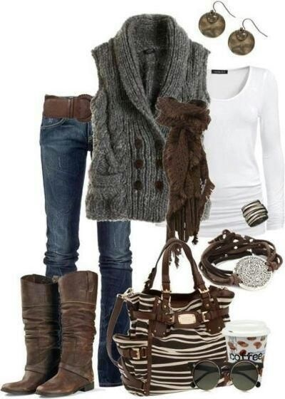 Love winter clothes!