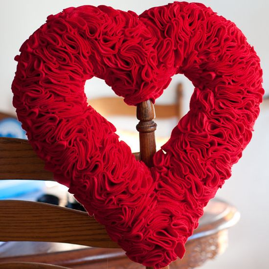 Valentine's Day Wreath,