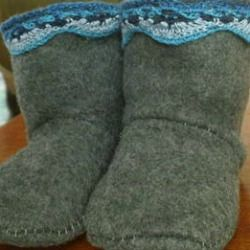 Handmade Gift Ideas: Baby Winter Boots