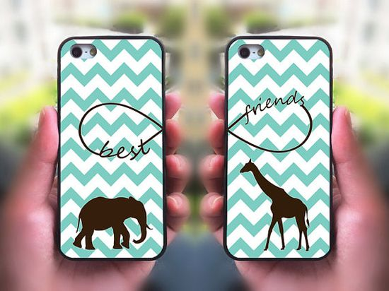 iPhone 5S case,Best Friends,iphone 5C case,iphone 5 case,iphone 4 case,iphone 4s,ipod case,Samsung and Blackberry Series,Elephant ,Giraffe @Kendall Finlayson Glavan