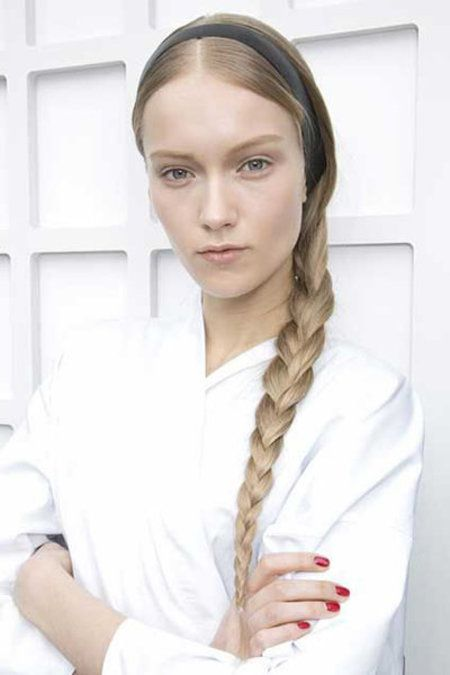 Sleek Braid for Fall #braidedhair #braid #hair - bellashoot.com