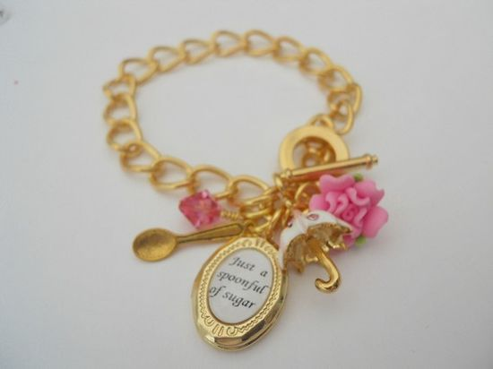 Mary Poppins bracelet for Mary Poppins costume.