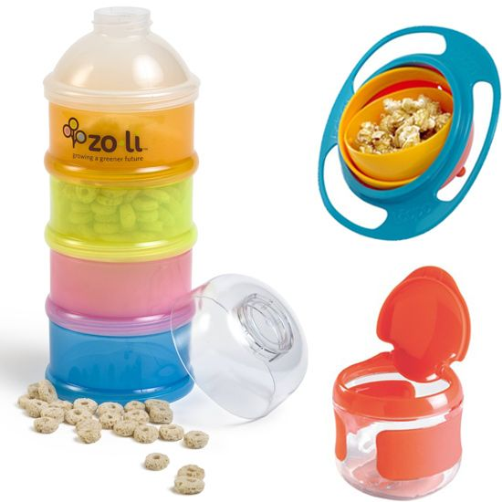Fun snack containers for toddlers.