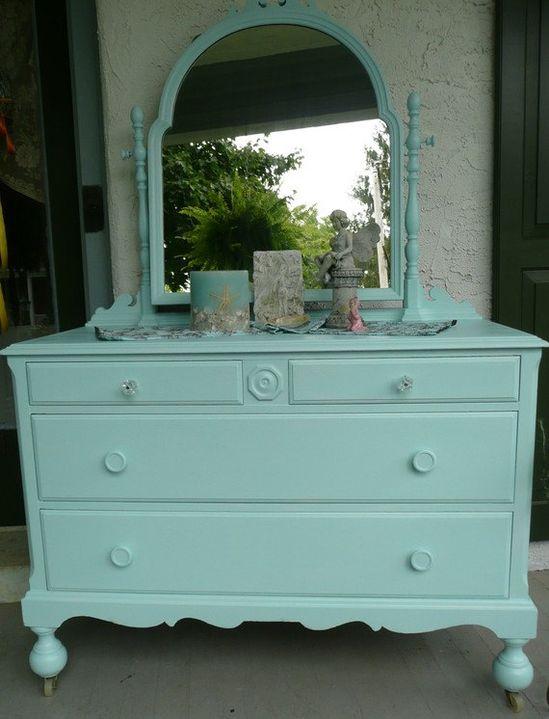 Vintage Cottage Dresser