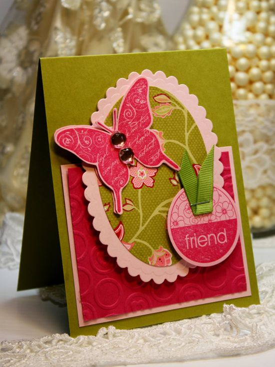 Handmade Card  Greeting Card  Friend  Stampin Up by CardInspired, $3.50