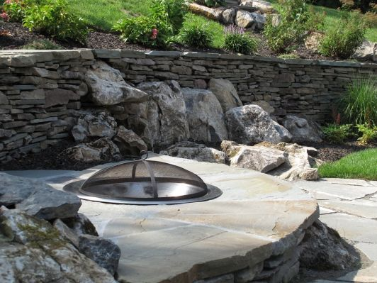 Firepit - Home and Garden Design Idea's