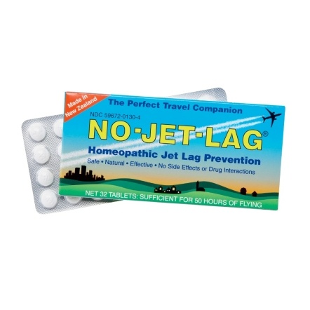 No Jet-Lag Tablets  has good reviews