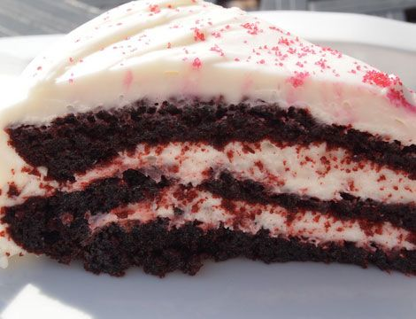 Red Velvet Cake - Click Pic for 18 Healthy Desserts Recipes