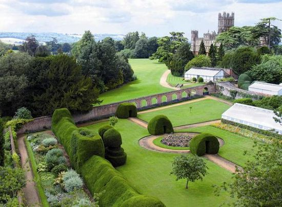 The Gardens of Downton Abbey (Highclere Castle).