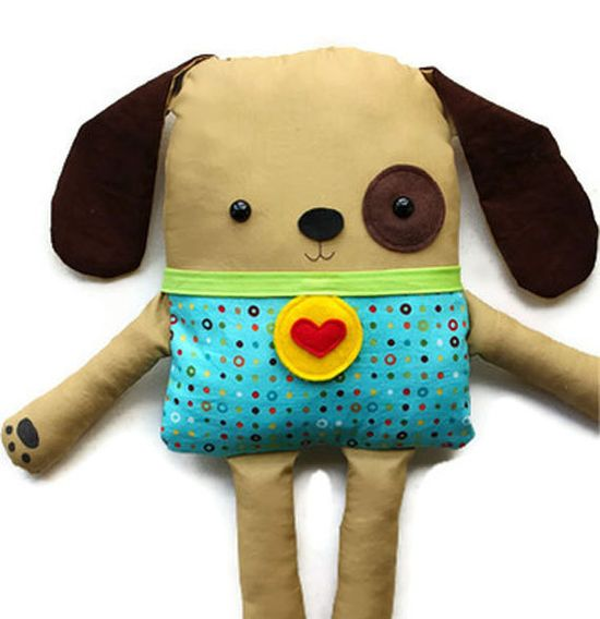 Easy Sewing Pattern Toy Dog Softie Doll PDF Sewing Pattern. $10.00, via Etsy.