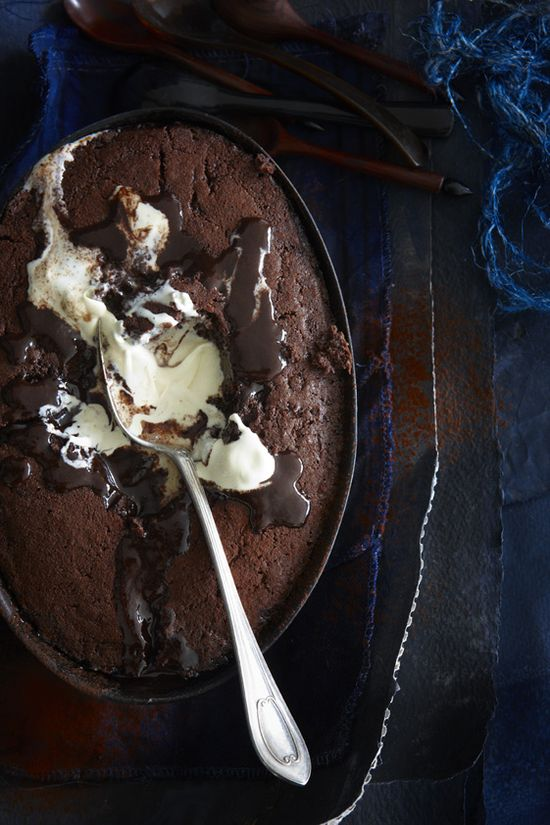 Self-Saucing Chocolate Pudding.