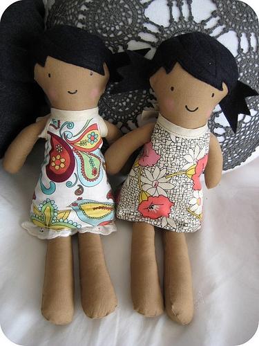 handmade dolls duet