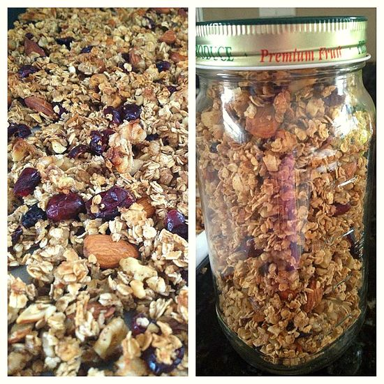 The Perfect Crunch : Healthy Homemade Granola!
