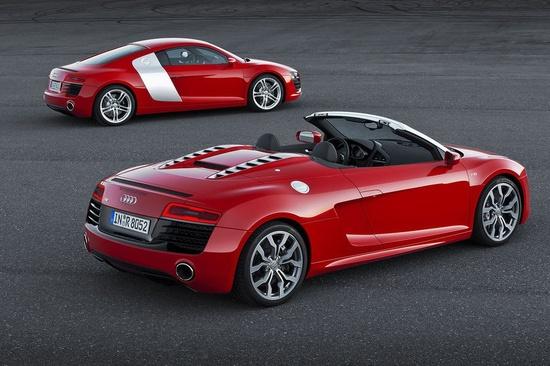 Audi Reveals 2013 R8