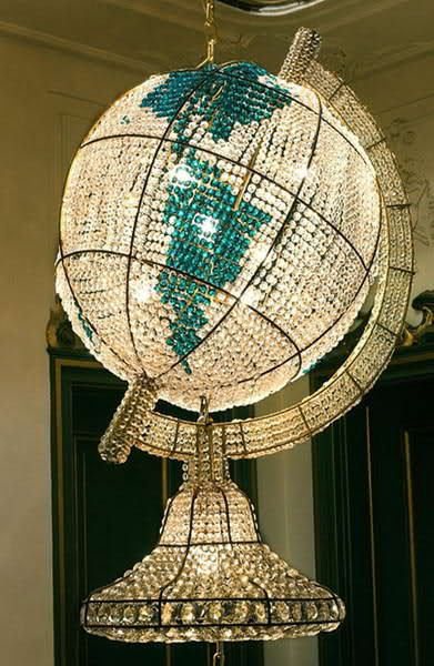 Made of emeralds and diamonds