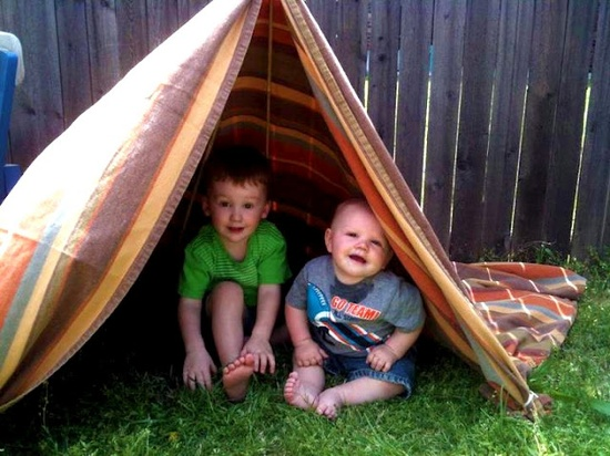 Simple DIY Teepee