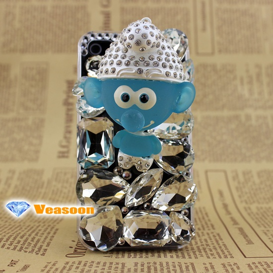 Iphone 4 case ,Iphone 5 case ,the smurf