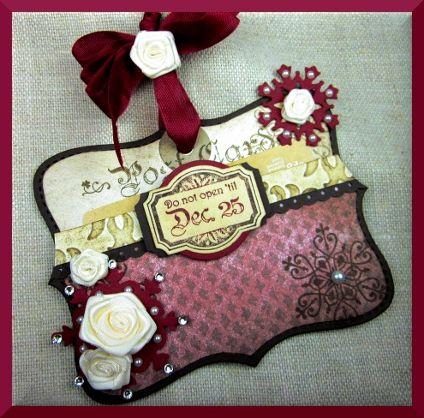 Winter Post card holder