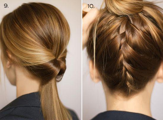 10 ways to dress up a ponytail