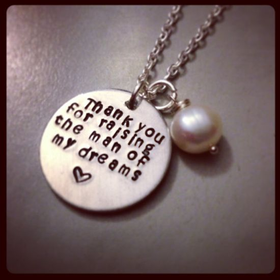 Personalized Hand Stamped  Mother in Law by KristinesKeepsakes, $21.50