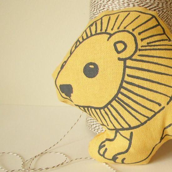 Little Lion - Handmade Stuffed Animal Toy
