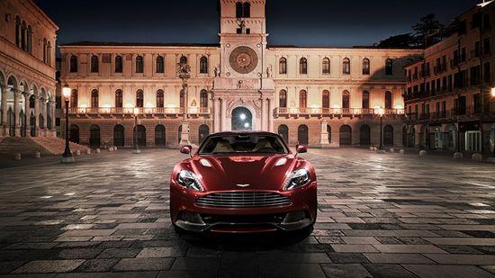 The distinguished yet youthful Aston Martin Vanquish