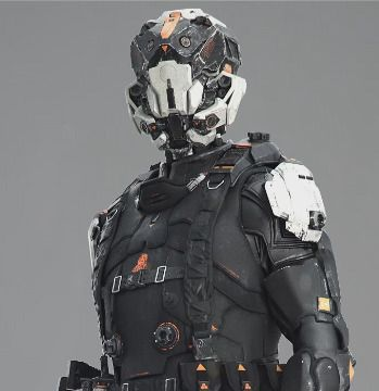 Concept SF Character for CG trailer