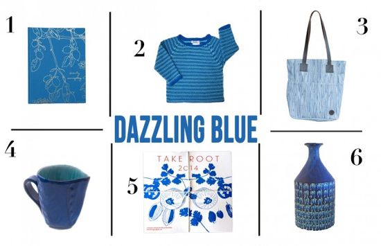Everything Dazzling Blue! Recipe For Press