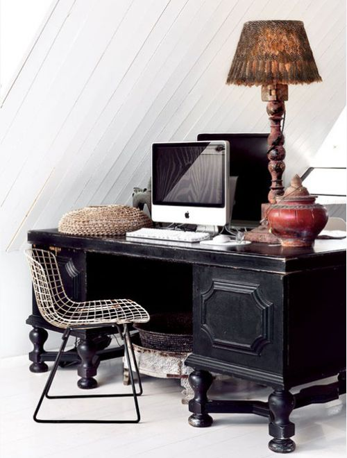 #office #black #house #home #decor