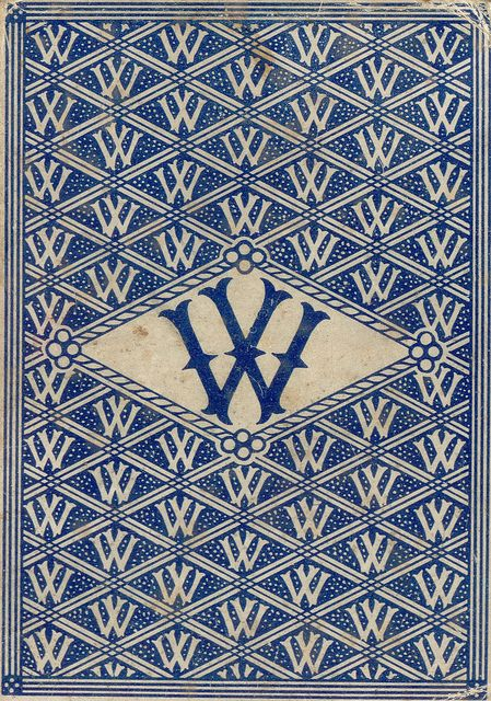 Letter W book cover