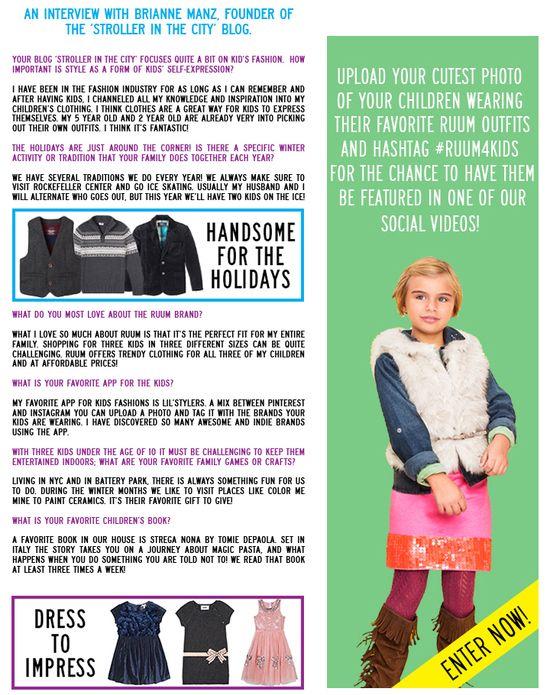 RUUM's November Newsletter