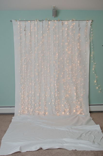 Christmas backdrop - great for holiday party photobooth #DIY