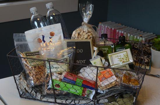Guest Room Gift Basket