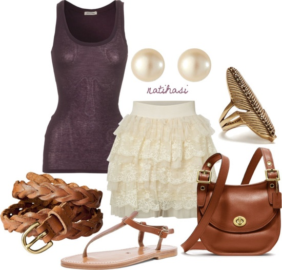 """Cute Spring Summer Outfit"" by natihasi on Polyvore"