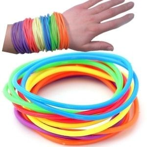 We called them Jelly Bracelets. Gotta love the 80's!