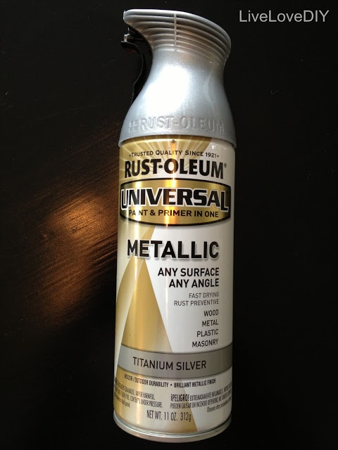 BEST metallic silver spray paint to use!