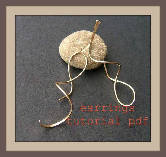 wire earring tutorial