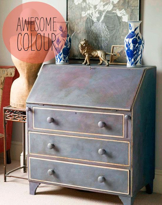 """love this paint job - From Annie Sloan's book """"Creating the French Look"""" published in 2008 by Cico."""